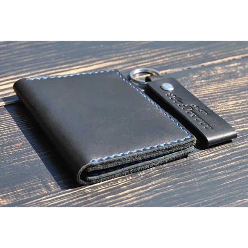Чоловічий гаманець і брелок Zircon leather