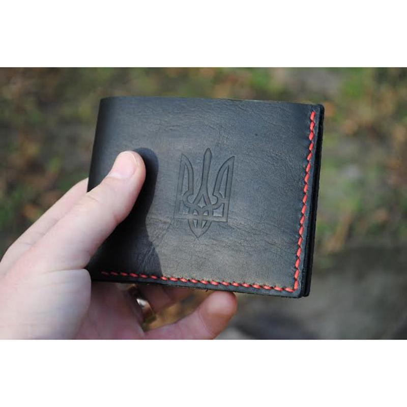 Бумажник Patriot Вlack leather