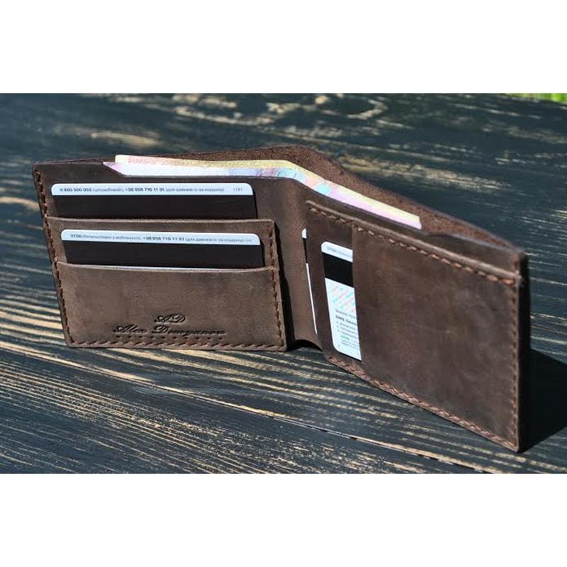 Гаманець Patriot Brown leather