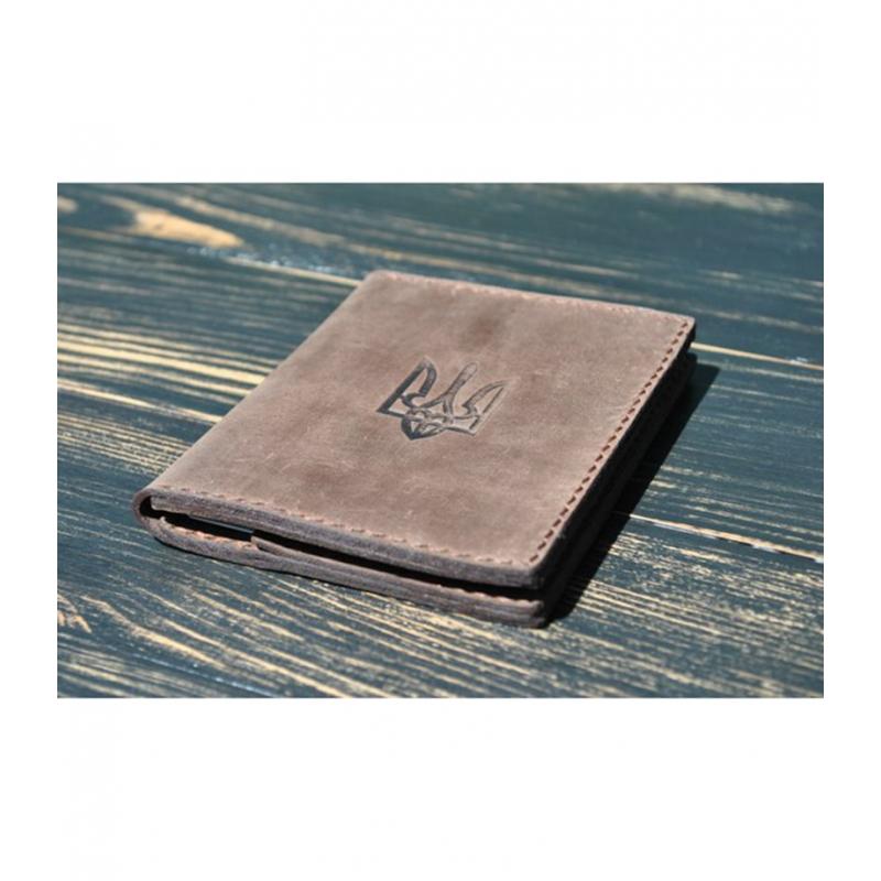Бумажник Patriot Brown leather