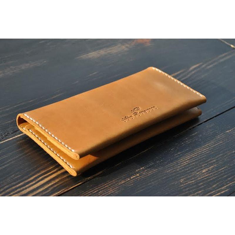 Портмоне кожаное Saffron leather