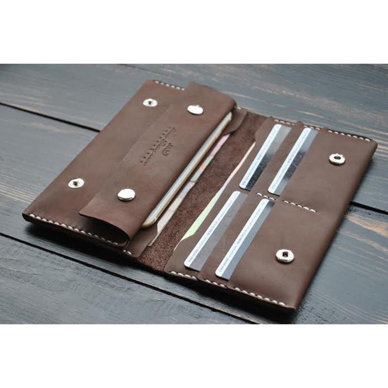 Портмоне в подарунок Chocolate leather