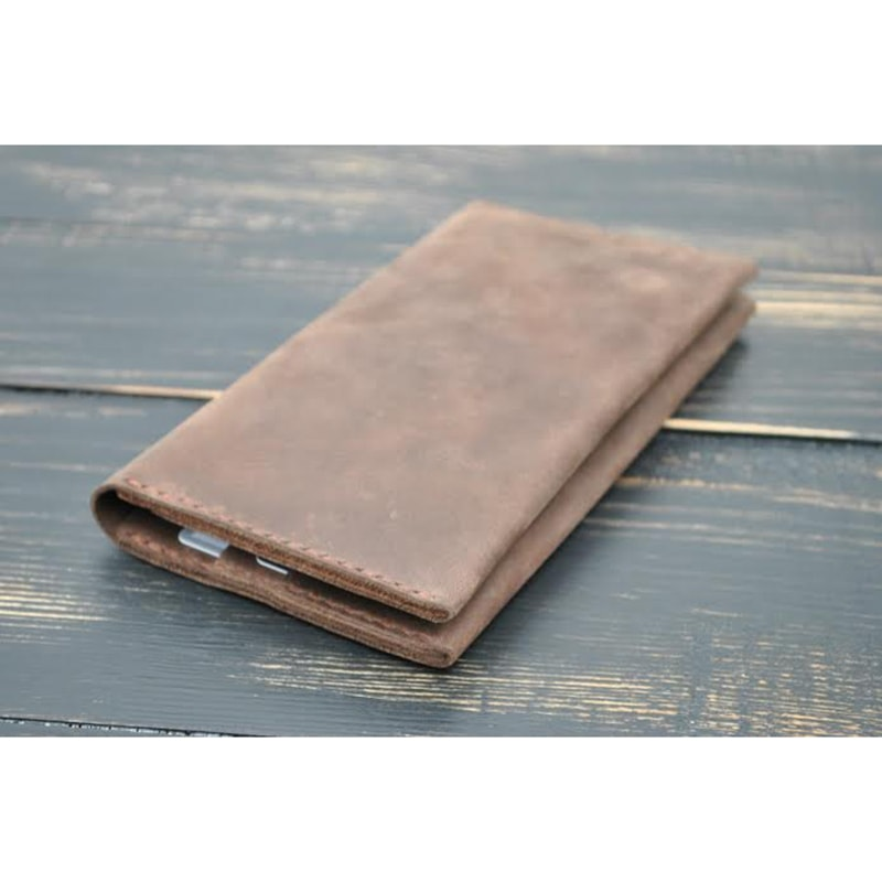 Кожаное портмоне Cappuccino leather