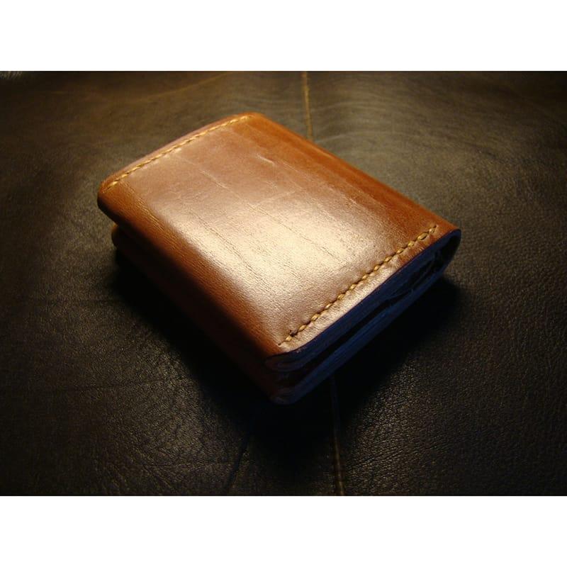 Дизайнерский портмоне Purse brown leather