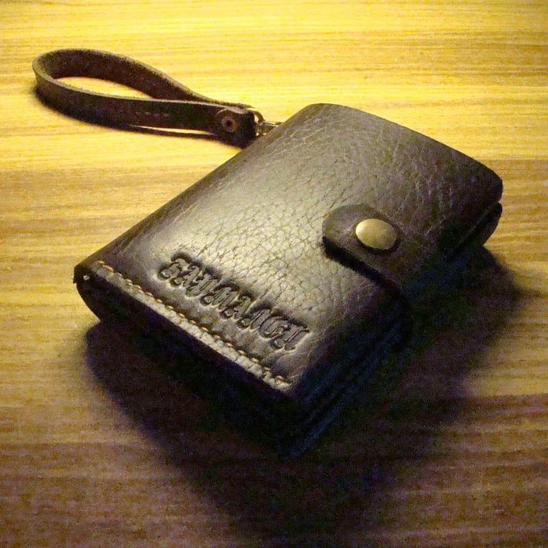 Брендовий гаманець для автолюбителя brown leather