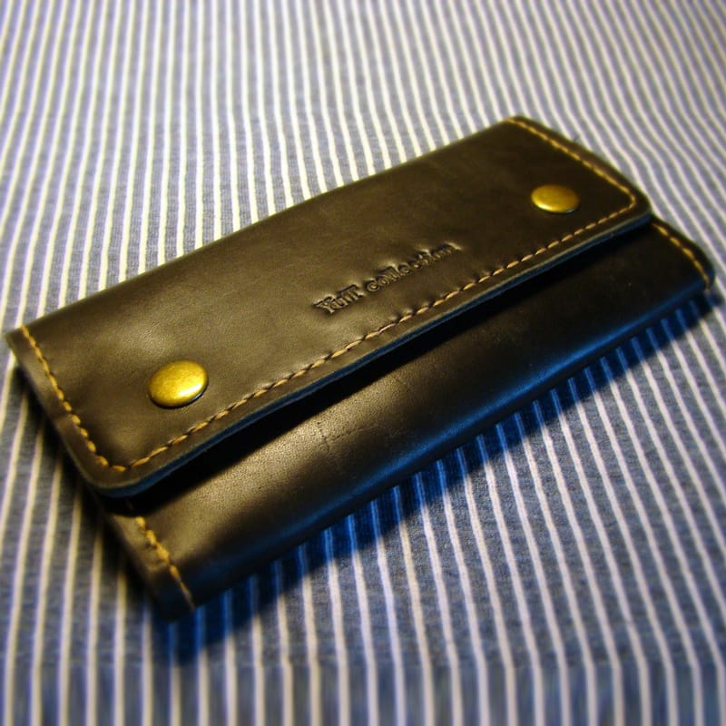 Дизайнерский женский портмоне brown leather