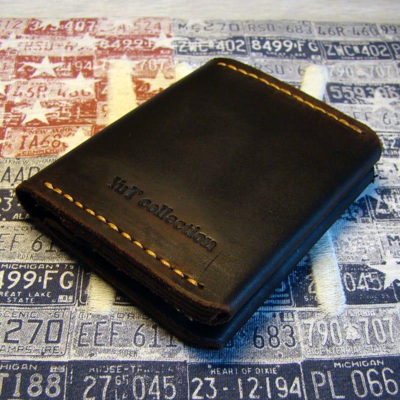 Шкіряне портмоне brown leather