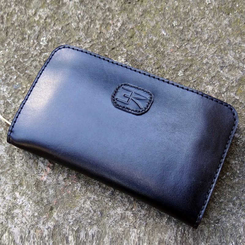 Мужской кошелек-клатч кожаный в подарок Handmade