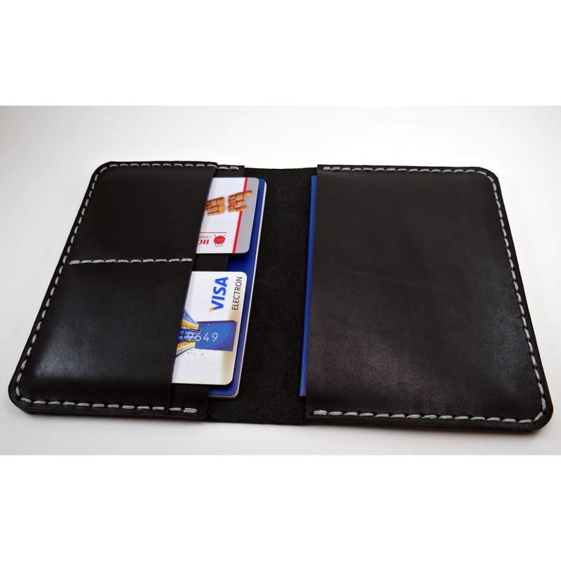 Обкладинка для паспорта шкіряна Handmade