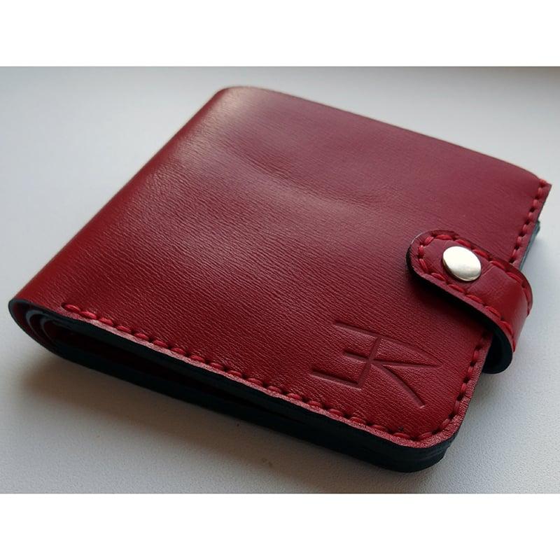 Портмоне дизайнерское мужское Handmade leather