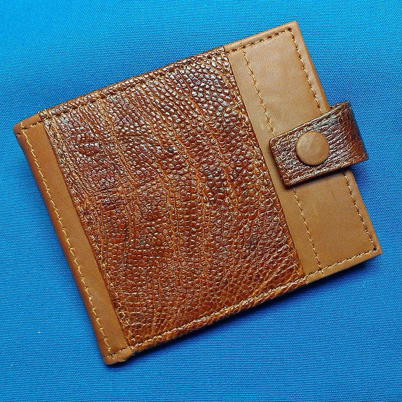 Кожаный кошелек унисекс STYLE ostrich leather