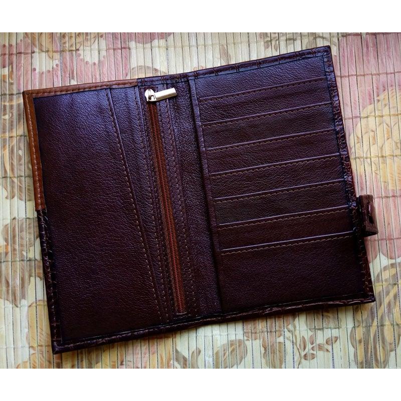 Шкіряне портмоне в подарунок РИБИ