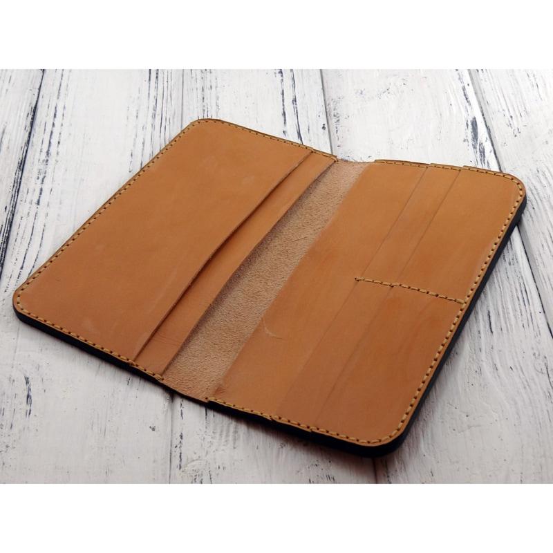 Авторське портмоне в подарунок Italian leather