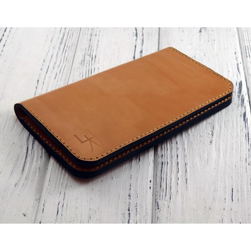 Авторское портмоне в подарок Italian leather