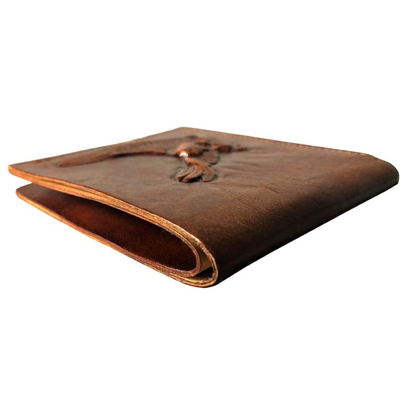 Шкіряний гаманець Purse Condor brown leather