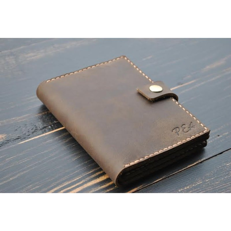 Портмоне для документов Brown leather
