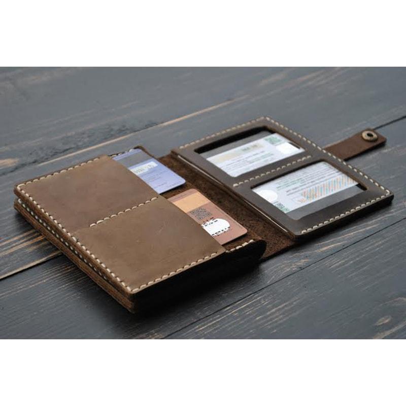 Портмоне для документів Brown leather