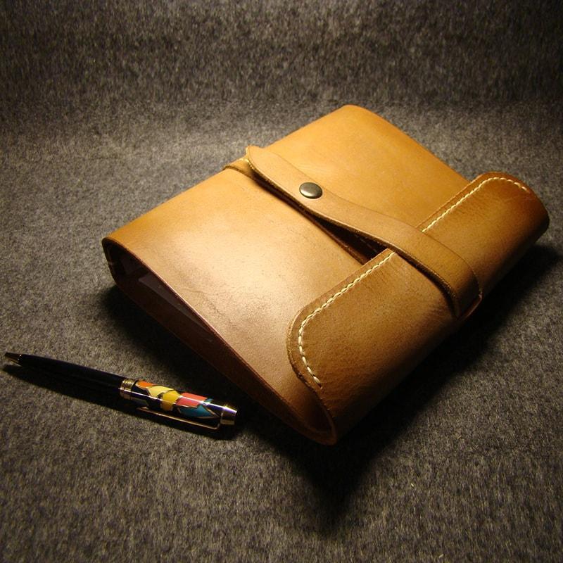Папка кожаная handmade documents