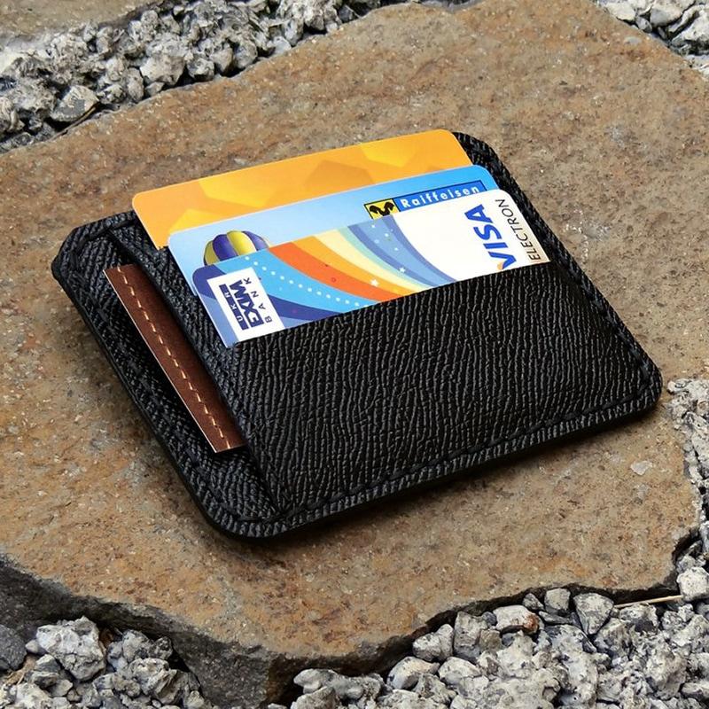Дизайнерская визитница в подарок Cardholder Safian