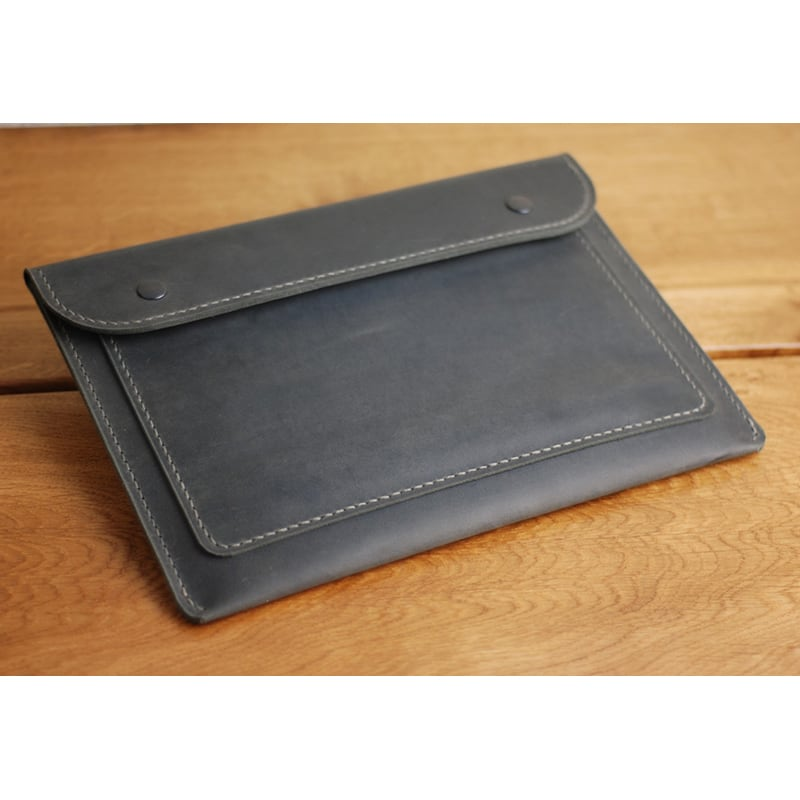 Шкіряна папка А4 Folio black leather