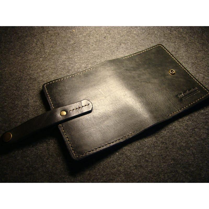 Авторська шкіряна обкладинка блокнот Jotter black leather