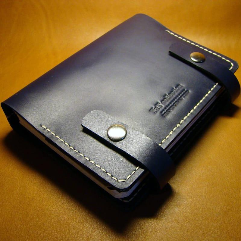 Органайзер кожаный мужской Star Вook blue leather