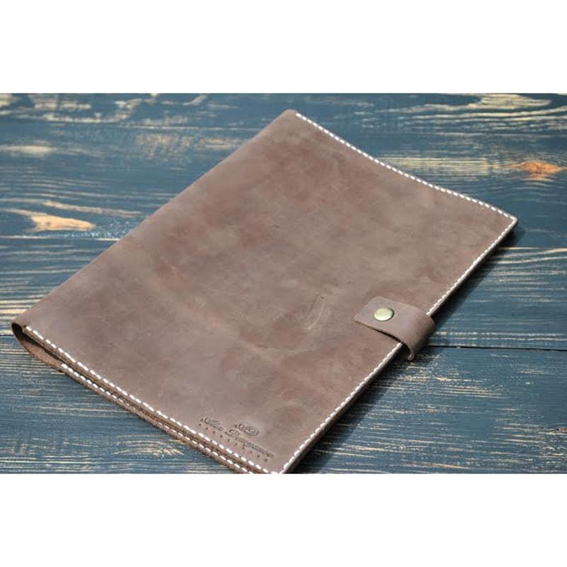Обложка для блокнота Cappuccino leather