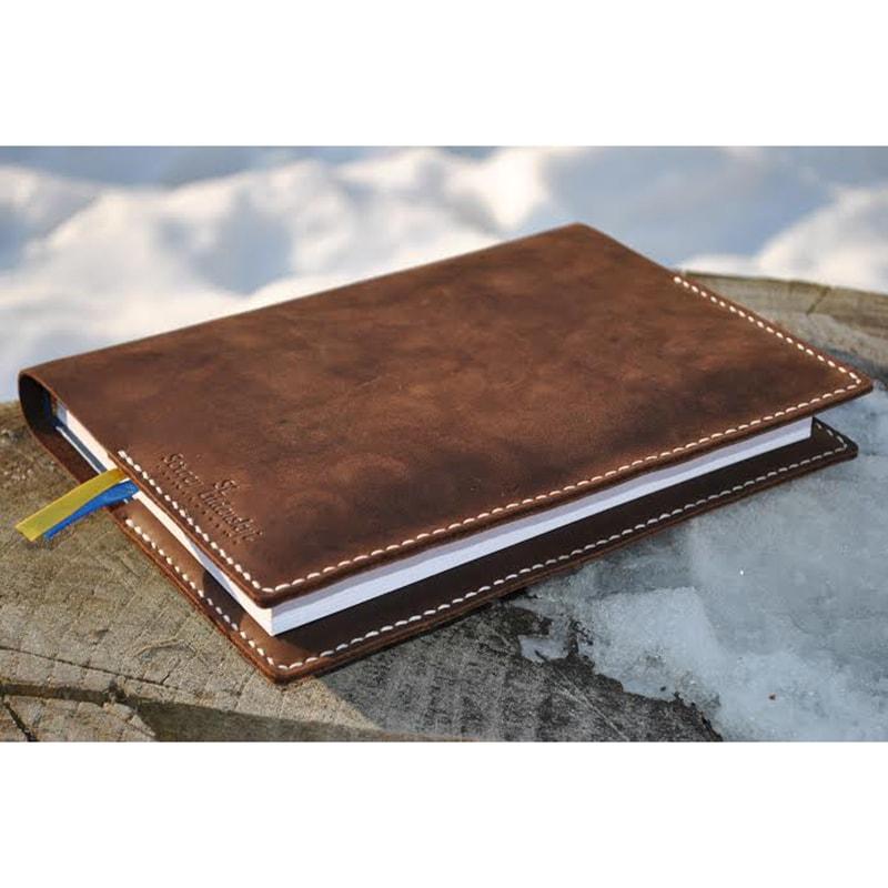 Обложка для блокнота Chocolate leather