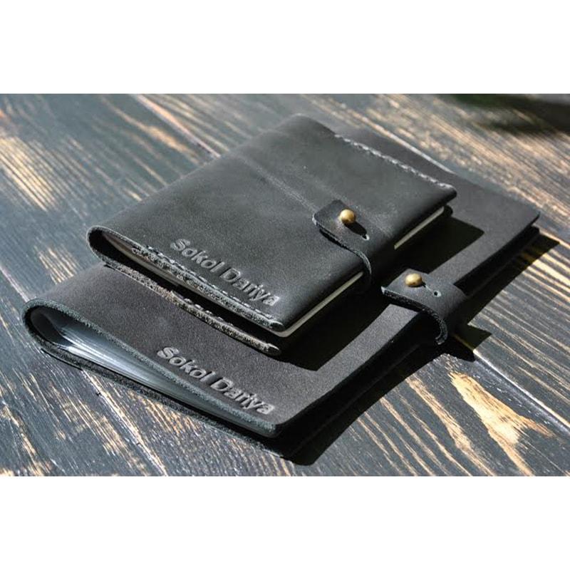 Визитница и обложка на паспорт Zircon leather