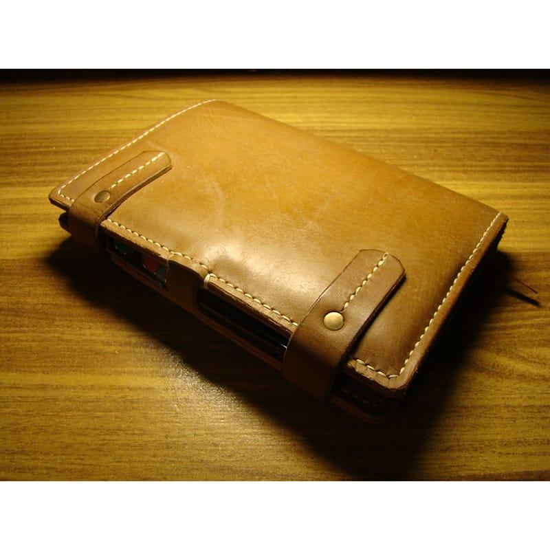 Стильный кожаный блокнот Organiser brown leather