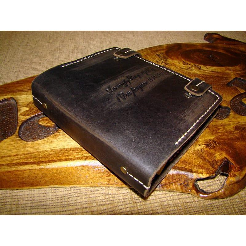 Брендовый ежедневник Handmade Notebook brown leather