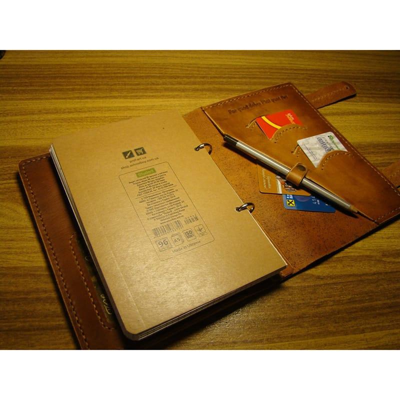 Дизайнерский брендовый органайзер Brigantine brown leather