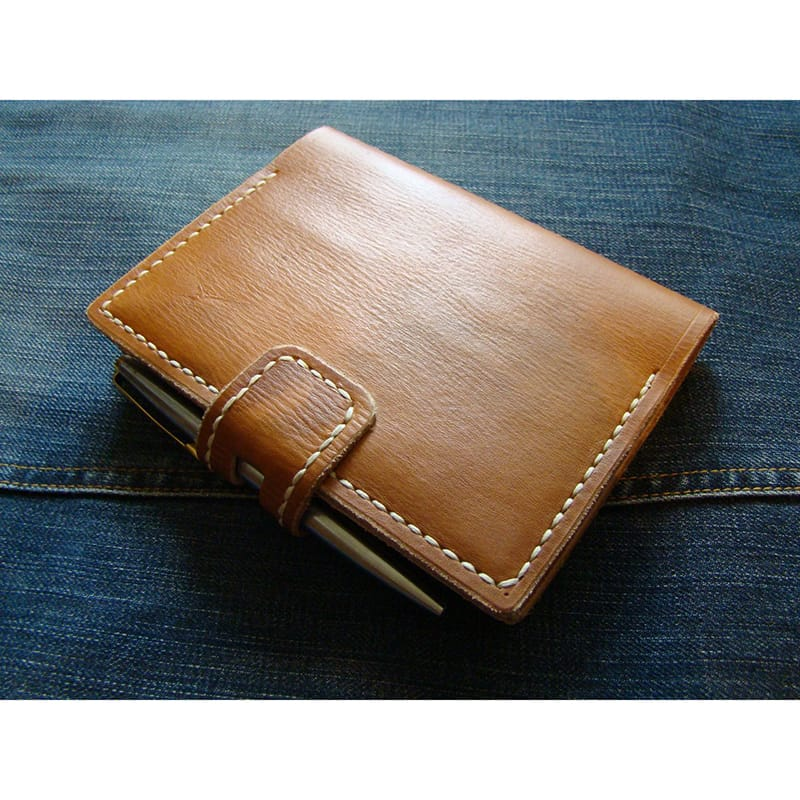Кожаный органайзер Sketchpad brown leather