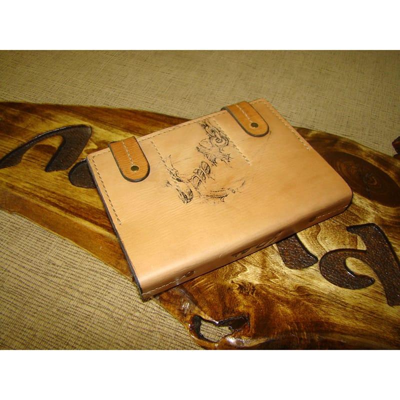 Эксклюзивная записная книжка Cruise brown leather