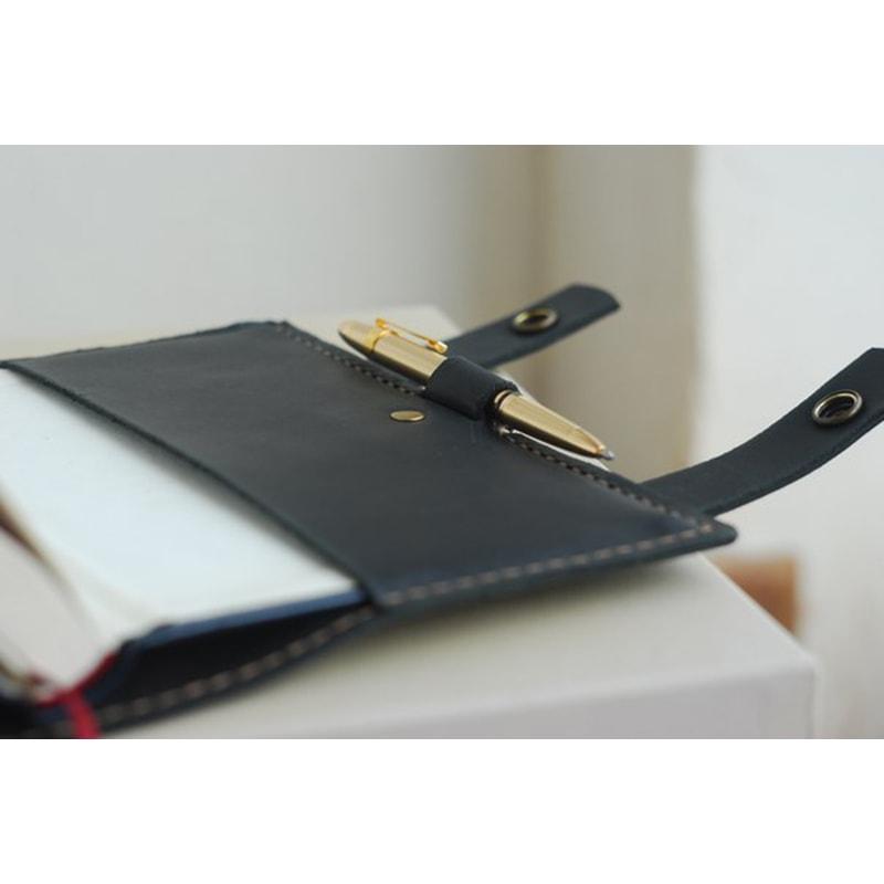 Органайзер шкіряний Casual Style Black Leather