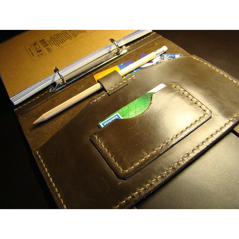 Кожаный органайзер Тraditional Style brown leather