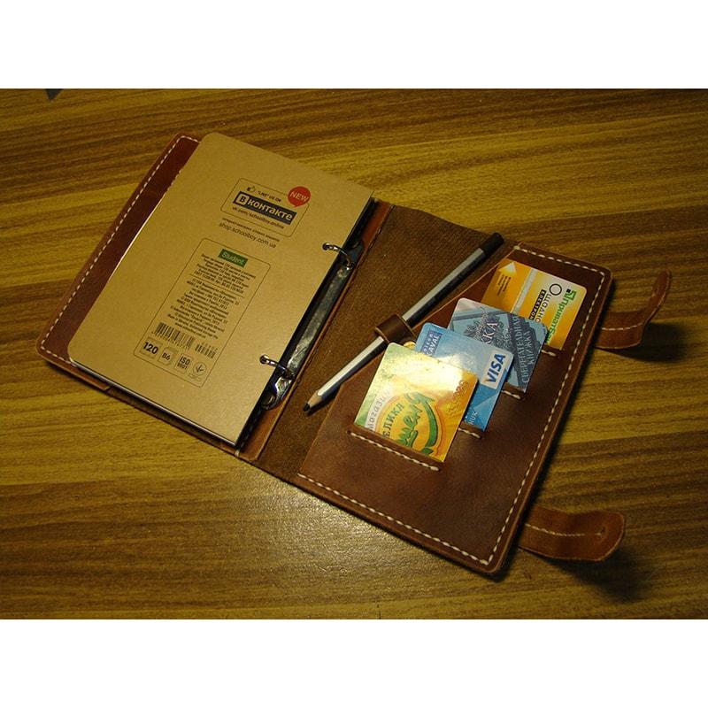 Шкіряний органайзер Personal Style brown leather