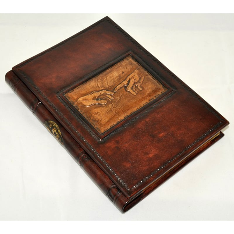 Записна книга Florentia Creation brown leather