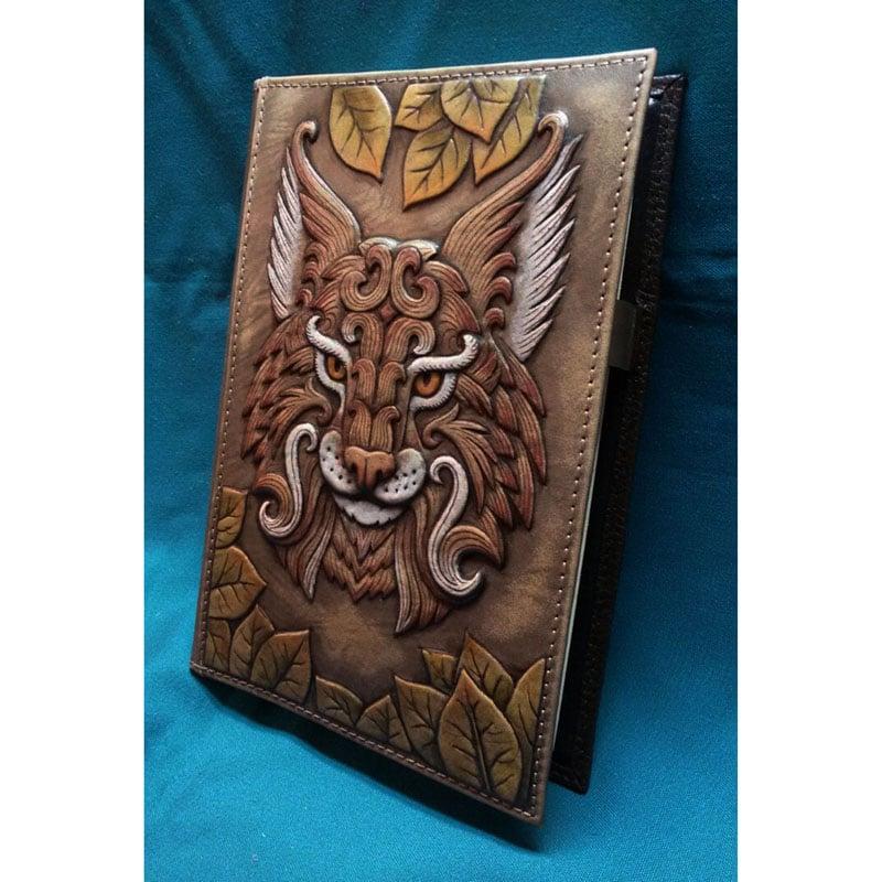 Авторский ежедневник в подарок Тигровый Волк