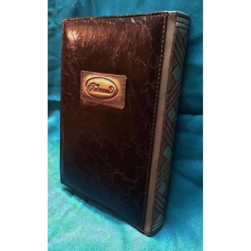 Ежедневник кожаный авторский Знак Медведя brown leather