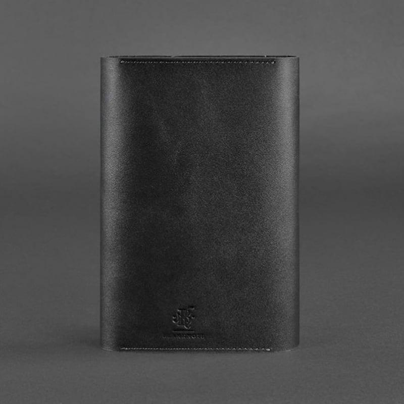 Блокнот в кожаном переплете Soft Book Volcano black leather