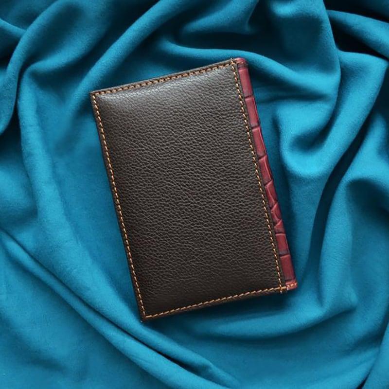 Щоденник в шкіряній обкладинці Lynx brown leather
