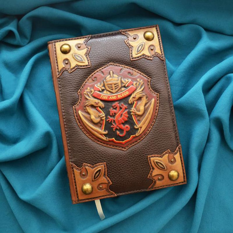 Кожаный блокнот Game of Thrones brown leather