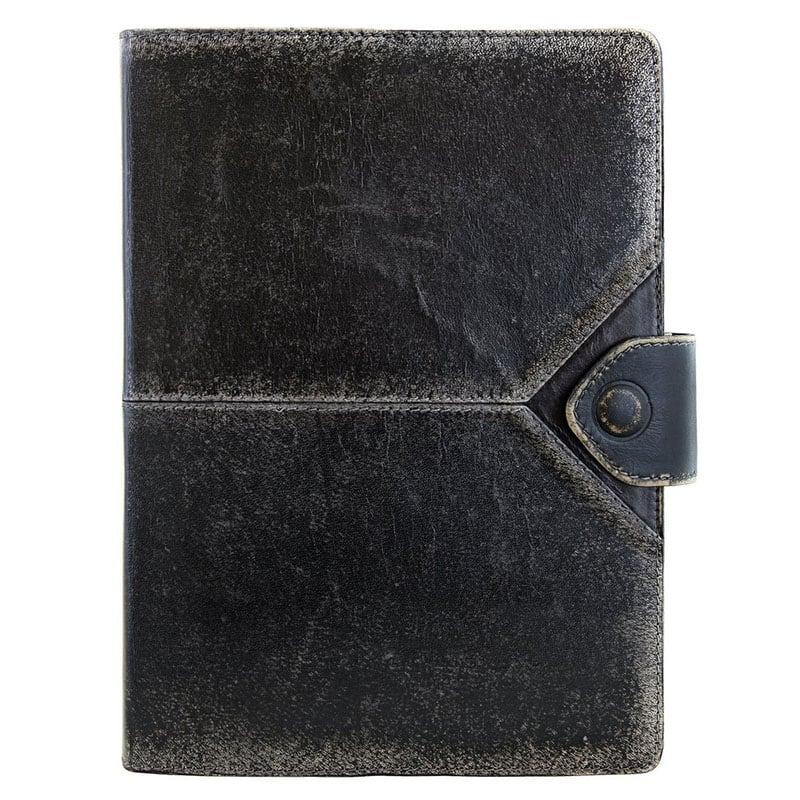 Кожаный органайзер Multipass black leather