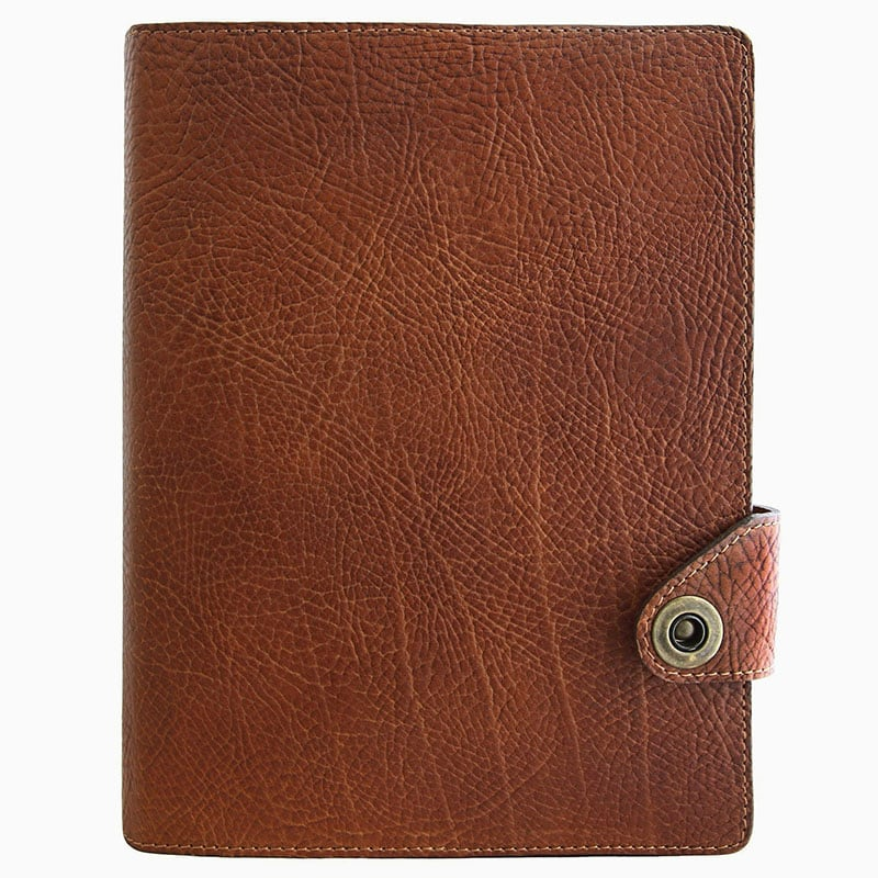 Шкіряний щоденник Scheduler brown leather