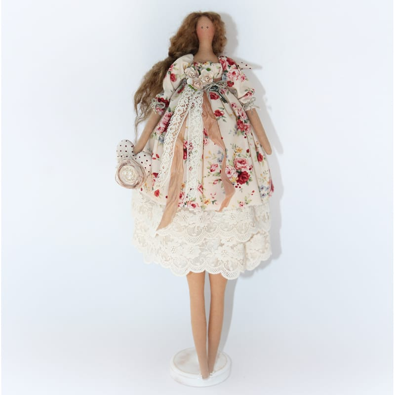 Кукла Тильда Ангел с Розами