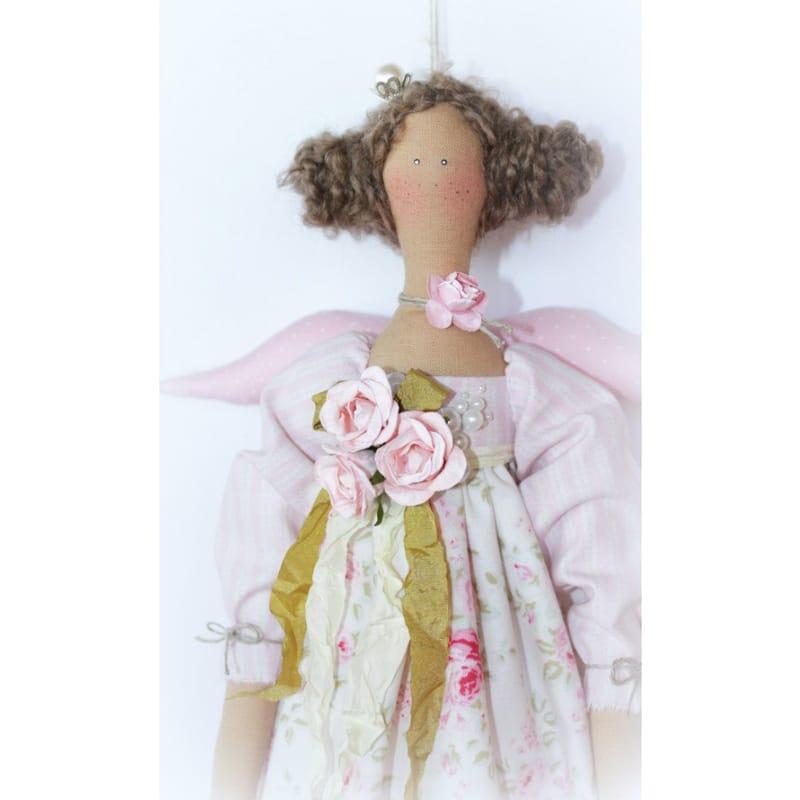 Кукла Тильда Ангел с Кудрями