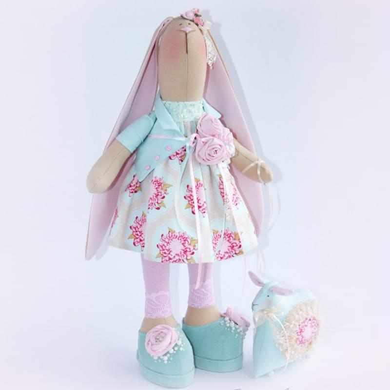 Дизайнерская интерьерная игрушка Кролик Тильда