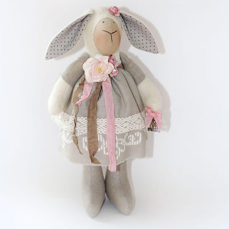 Прекрасная дизайнерская кукла Осенняя Овечка Тильда