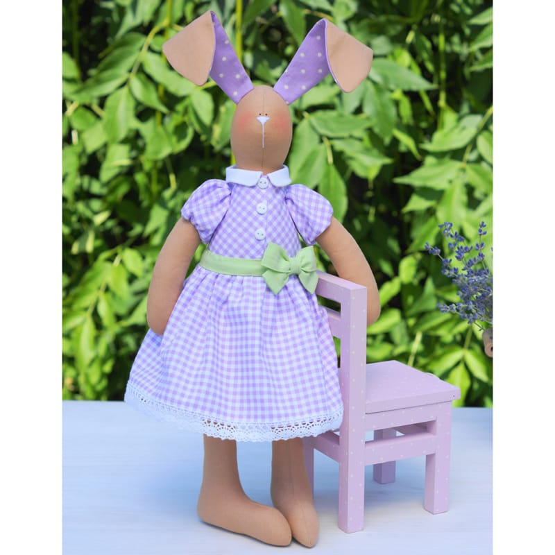 Кукла Тильда Handmade Лавандовый Кролик